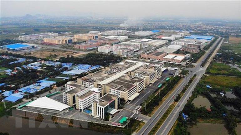 Dự án khu công nghiệp đô thị VSIP Hải Phòng. Ảnh: TTXVN