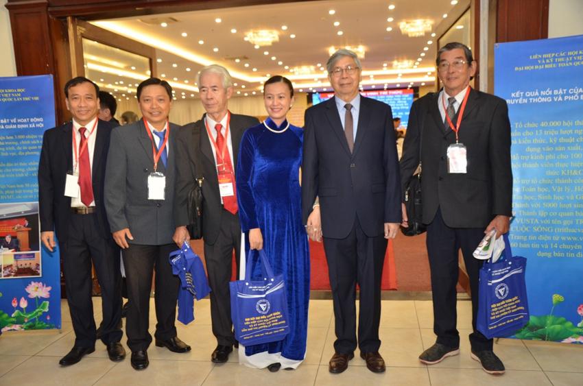 Các đại biểu tham dự Đại hội VIII của LHHVN (Tháng 12/2020)