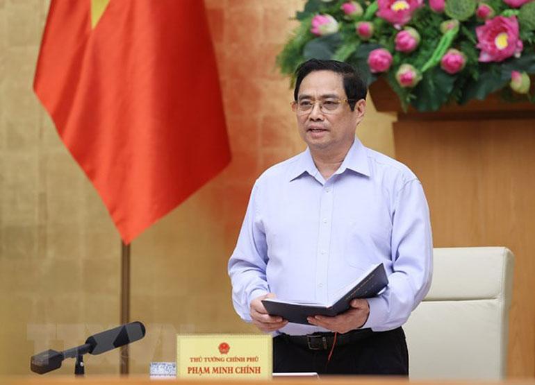 Thủ tướng Phạm Minh Chính. Ảnh: TTXVN