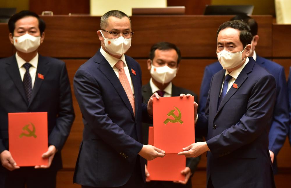 Bí thư Tỉnh ủy Phạm Đại Dương được bầu giữ chức Trưởng Đoàn ĐBQH tỉnh Phú Yên