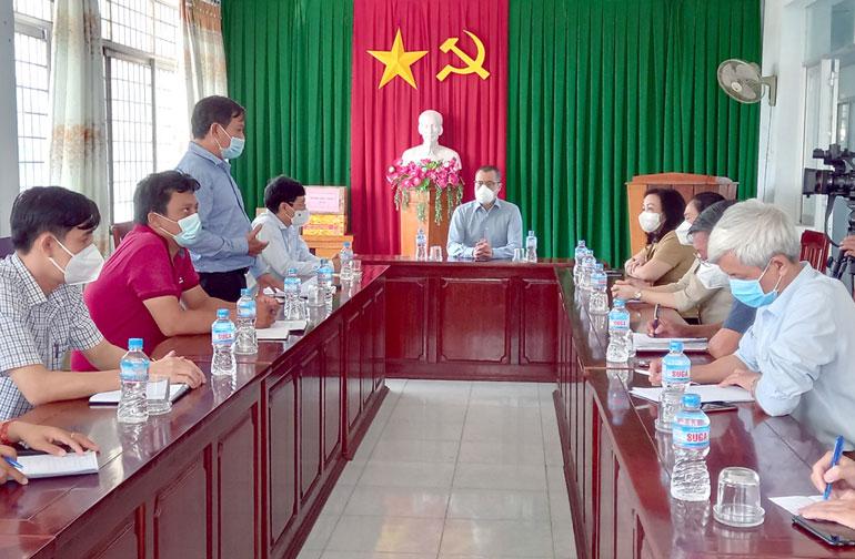 Bí thư Tỉnh ủy Phạm Đại Dương: Vừa tập trung phòng, chống dịch vừa lo an dân