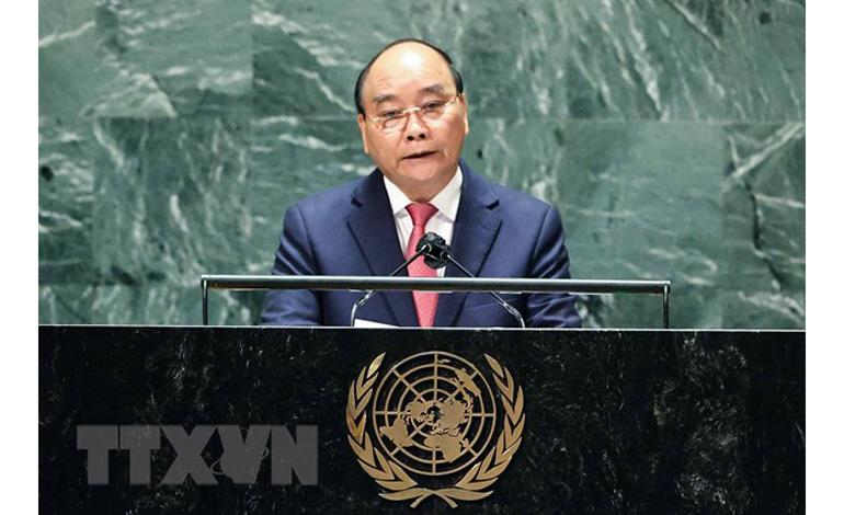Chủ tịch nước Nguyễn Xuân Phúc: Việt Nam chung nhịp đập sẻ chia, hợp tác, cùng thắng đại dịch