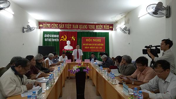 Liên hiệp Hội Phú Yên triển khai nhiệm vụ trọng tâm 2018